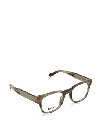 6090271c37 HUGO BOSS 0738 Eyeglasses 0K93 Horn Mud 49-21-145  Amazon.co.uk ...