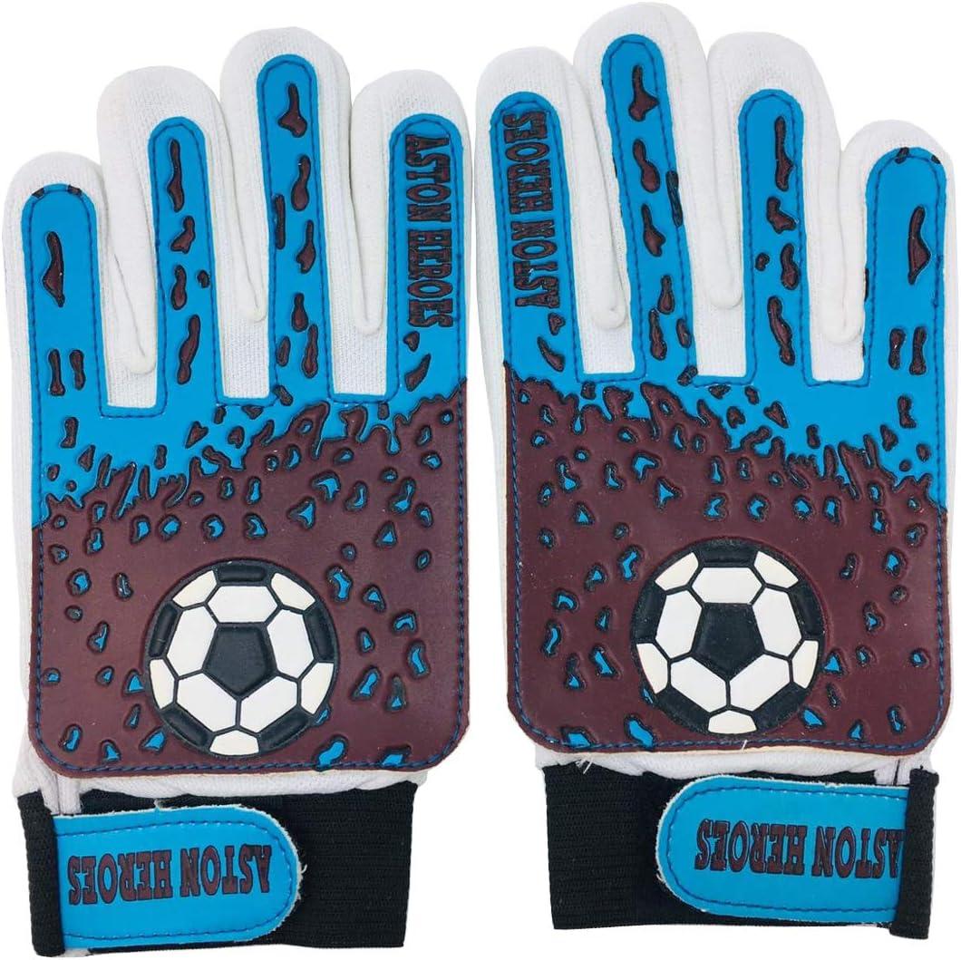 Guantes de portero para niños Junior de balón de fútbol (Aston ...