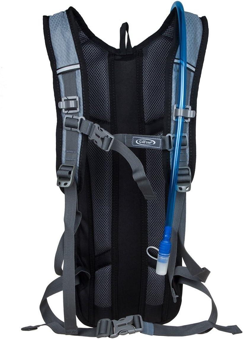 G4Free 10L Sport Sac dhydratation avec 3L eau vessie Convient pour Cyclisme Randonnee pedestre Courir