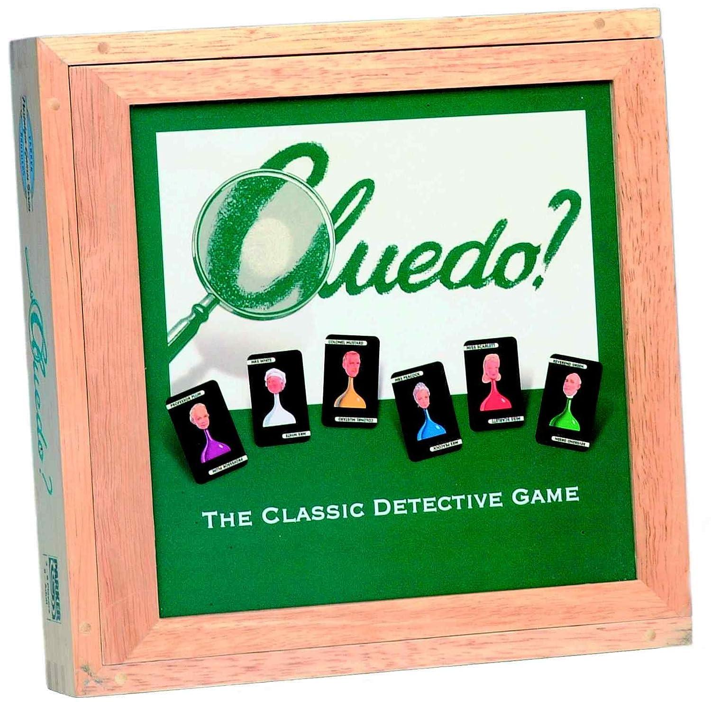Cluedo - Juguete de detective (Hasbro HAS44163) (versión en inglés)