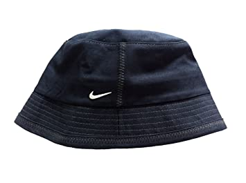 big sale b1126 18b8b ... canada nike swoosh unisex adult childs fisherman bucket hat sun holiday  cap. black. size
