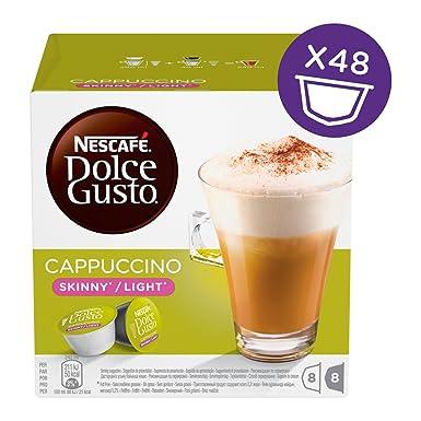 Nescafé Dolce Gusto - Cappuccino Light - 3 Paquetes de 16 Cápsulas - Total: 48 Cápsulas: Amazon.es: Alimentación y bebidas