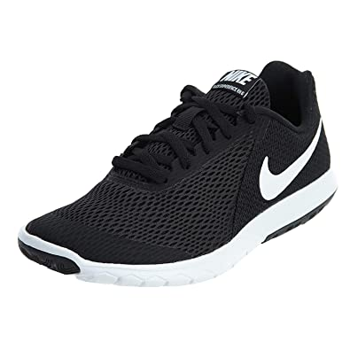 pretty nice a3d81 d6769 Amazon.com   Nike Flex Experience Rn 6 Womens Style  883609-001 W Size  8 M  US Black White   Fashion Sneakers
