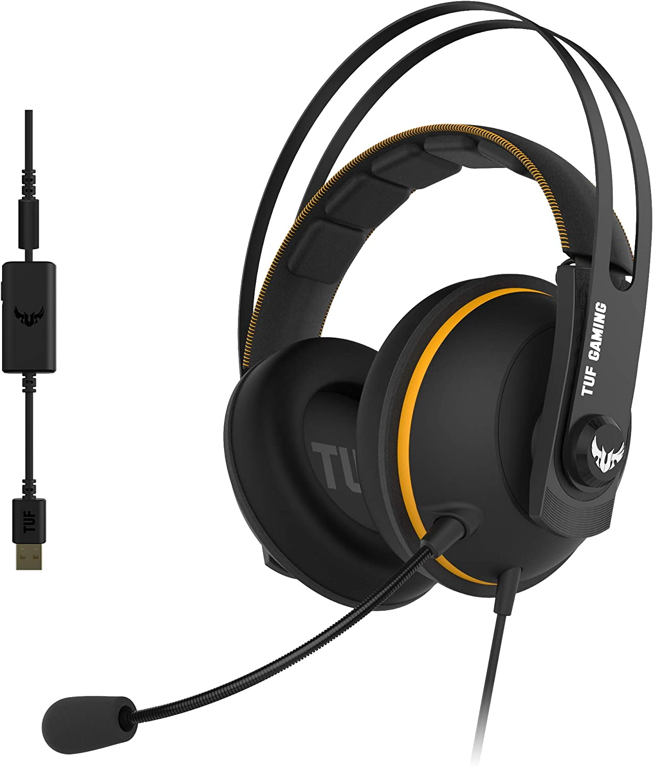 Asus TUF Gaming H7 PC and PS4 gaming headset with: Amazon.co