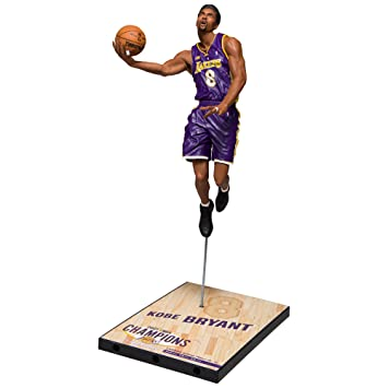 McFarlane NBA KOBE BRYANT #8 - Los Angeles Lakers Championship Series 2001 Sports Picks Figure