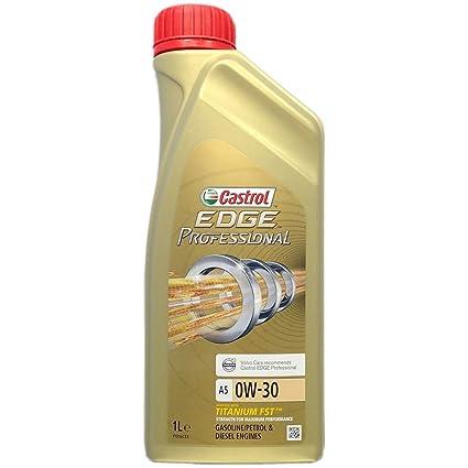 Castrol EDGE Professional 0W-30 A5 Aceite de Motores 1L ...
