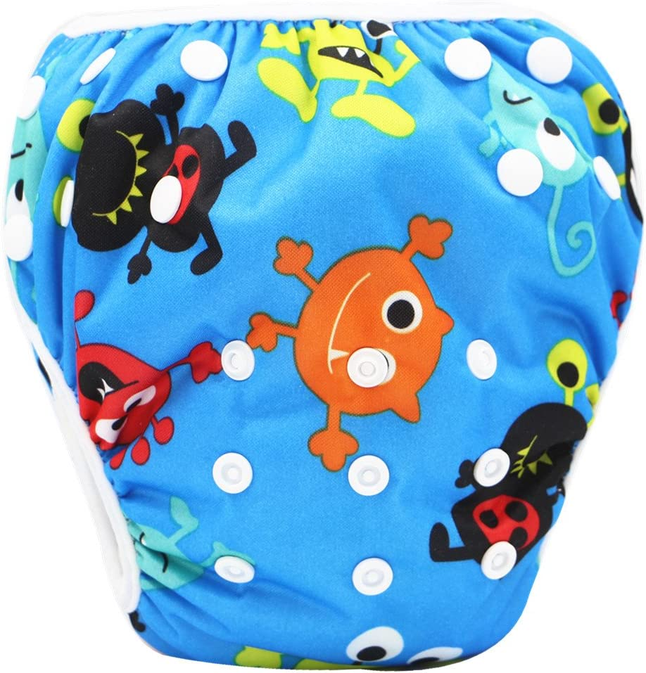 Storeofbaby Baby Reusable Nappies Swimpant Diapers Waterproof Swimming Lessones