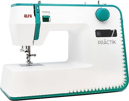 Maquina de coser Alfa practik 7: Amazon.es: Hogar