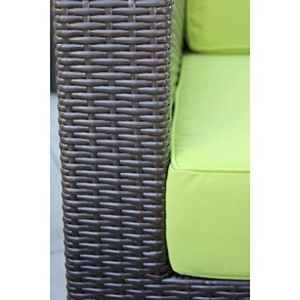 Amazon Com Overstock Selby 5 Pc Modern Outdoor Rattan Patio
