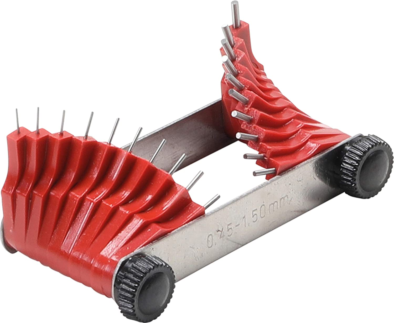 BGS 3041 | Galgas de inyectores | 0,45 - 1,50 mm | 20 piezas