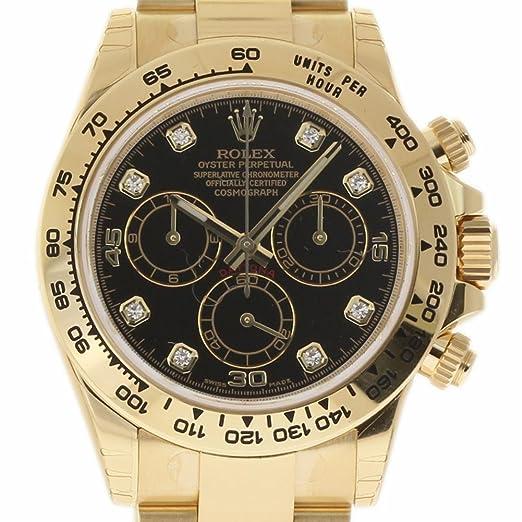 Rolex Daytona Swiss-Reloj automático para Hombre 116508 (Certificado prepropietario)