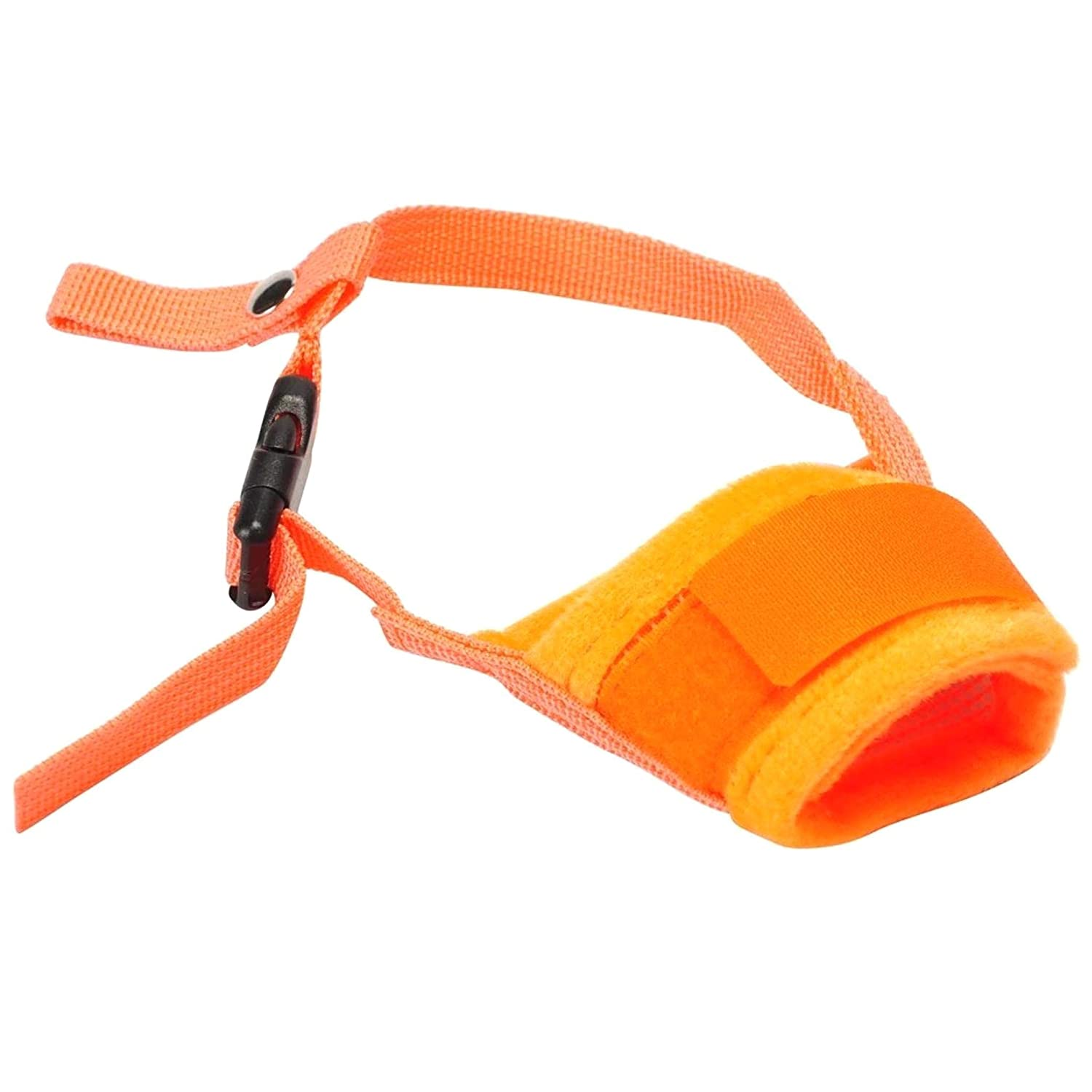 LIUSHUI Dog Muzzle Adjustable Breathable Soft Dog Muzzle Prevent Biting Barking and Chewing