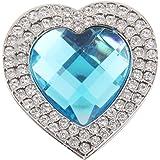 Accroche Sac Porte-Sac Crochet de Sac à Main Pliable - Coeur Bleu