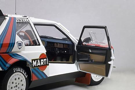 AUTOart Aa88621 Modelo Coches Lancia Delta S4 En el Puesto nº 5 Ganador Rally Argentina 1986 Biasion-Siviero: Amazon.es: Juguetes y juegos