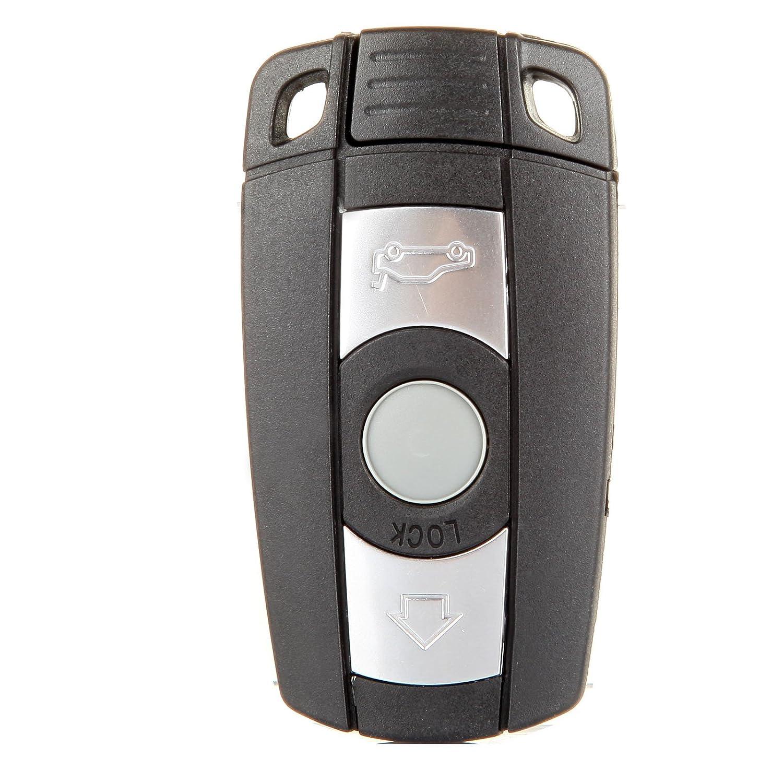 ECCPP 1pc新しいUncut W /チップキーレスエントリスマートリモートキーレスリモートキーFob交換用for BMWシリーズkr55wk491 B07C31XN1Q