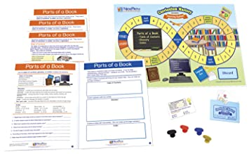 parts of a book game