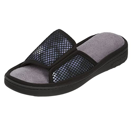 96046a574f6f Dearfoams Active Mesh (Black Multi) Slide with Gore X-Large UK India 9-10  Buy  Online at Low Prices in India - Amazon.in