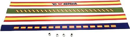 Tarja 73 | Pulseras De Tela Con la bandera ESPAÑOLA en pack de 4 unidades | Pulsera Con la BANDERA DE ESPAÑA | Regalo Original: Amazon.es: Hogar