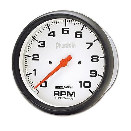 amazon com auto meter 5898 phantom in dash electric tachometer rh amazon com
