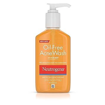 Amazon.com: Neutrogena, limpiador para acné, sin aceite, 6 ...