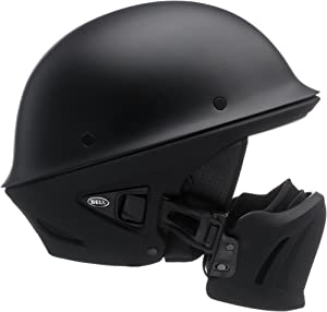 Bell Rogue Half Helmet (Matte Black - Small)