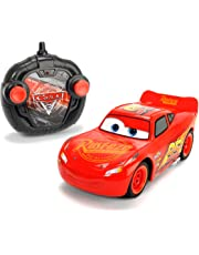 Smoby Radio Control Car with Lightning McQueen Cars 3 Design   | 2.4 GHz  | Remote control car with full steering capabilities with turbo function  | Ages 3 years+