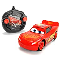 Smoby Majorette - 203084003 - Cars 3 - Voiture Radio Commandée - Turbo Racer Lightning Flash McQueen