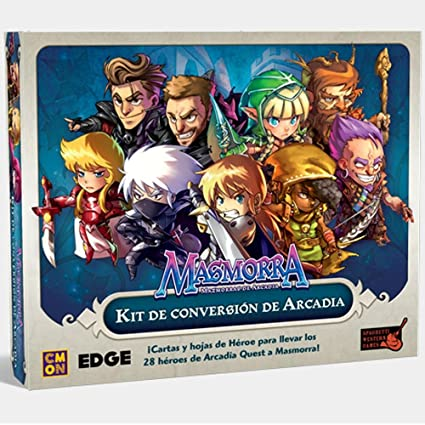 Amazon.com: Dungeon of Arcadia – Conversion Kit Arcadia ...