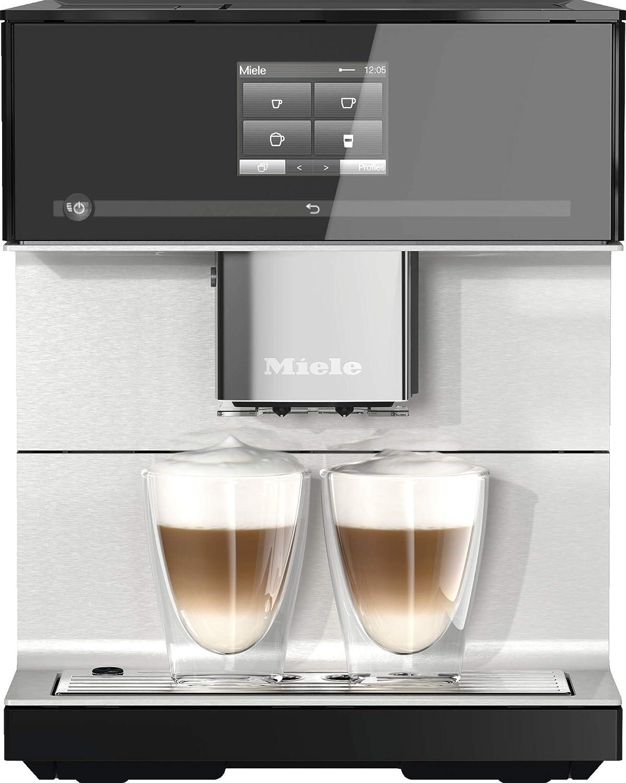 Miele 10947390 cm 7350 – Cafetera automática Negro: Amazon.es: Hogar