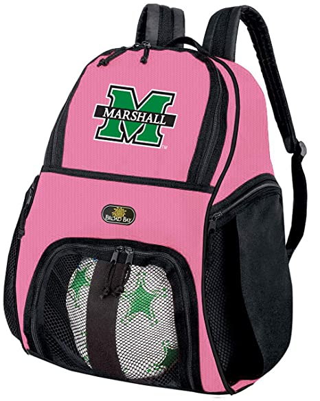 Las niñas mochila Universidad Marshall de balón de fútbol o ...