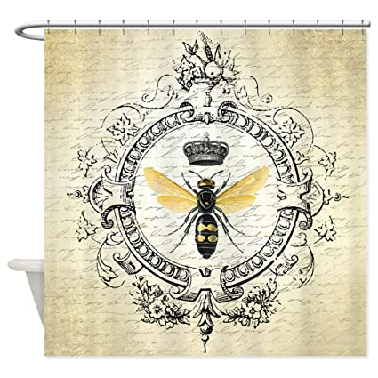 Amazon.com: CafePress - Vintage French Queen Bee - Decorative Fabric ...