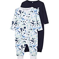 NAME IT Baby-Jungen Strampler, 2er Pack