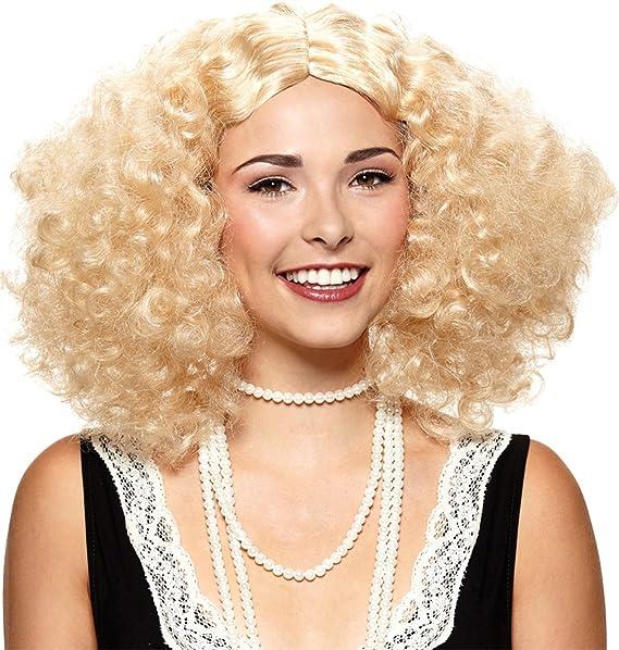 Amazon.com: Mario de la mujer Embrace la Frizz peluca ...