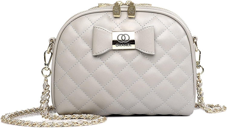Bow Plaid Women Crossbody Bag Female Shoulder Bags Casual Purses Clutch Small Bag Women Messenger Bag