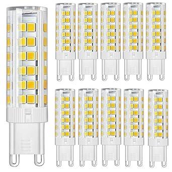 G9 À Économie Led D'énergie Pack Super 10 Ampoules Puce 7w MVSUpqzG