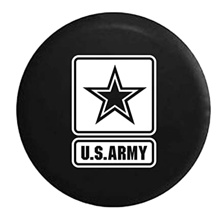 Not All Who Wander Are Lost Compass Star Spare Tire Cover OEM Vinyl Black 32-33 in American Unlimited Gear Tires-S238-Xlarge