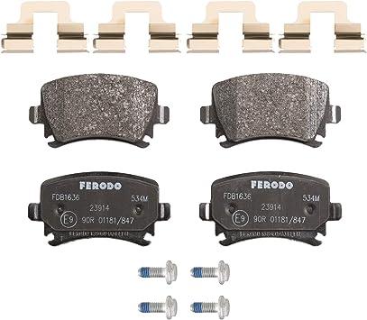 Ferodo Fdb1636 Premier Bremsbelagsatz Scheibenbremse 4 Teilig 4 Stück Auto