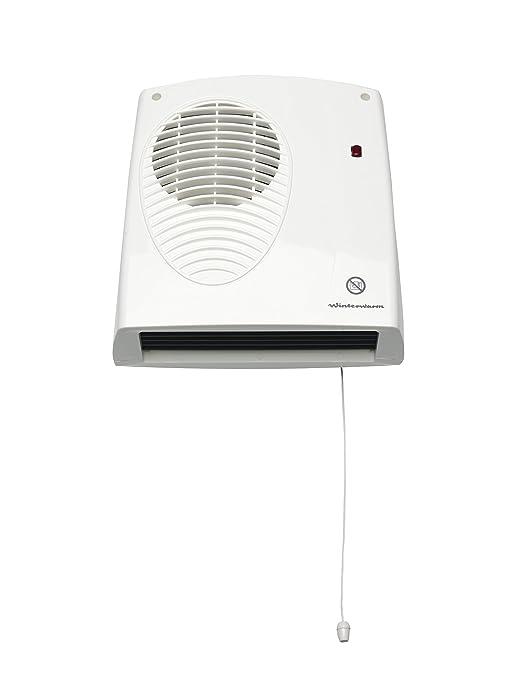 Glen Dimplex FX20VE con fijaci/ón para montaje mural y temporizador electr/ónico de 1//2 KW, bajo consumo Calefactor
