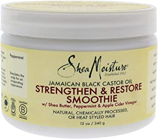 product image for Shea Moisture Jamaican Black Castor Oil Strengthen & Restore Smoothie Cream for Unisex, 12 Ounce