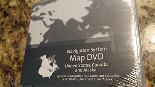 Amazon.com: GM Navigation System Map DVD V3.0 (USA, Canada, Alaska ...