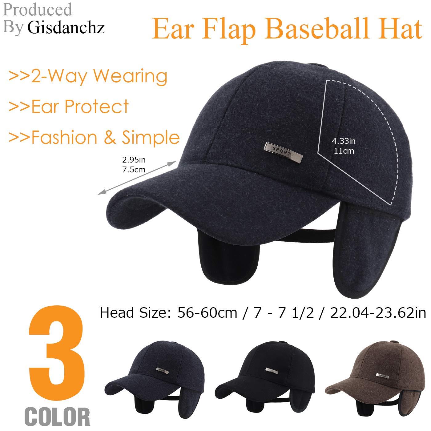 Gisdanchz Wool Baseball Cap 66892e3d1565