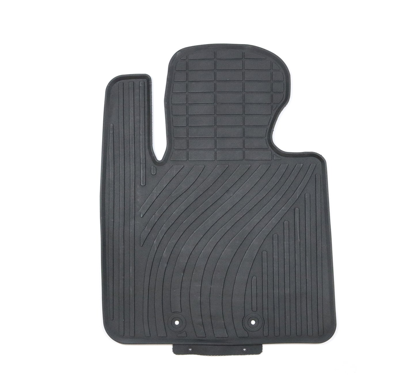 TMB Motorsports Black Rubber All Weather Floor Mats for 2010-2015 Kia Optima