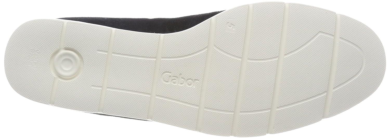Gabor Damen Comfort Comfort Comfort Sport Geschlossene Ballerinas, grau Blau (Pazifik (Strass)) 11975b