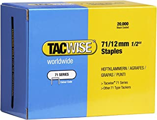 Tacwise Type 71/12 Series 71 Staples 12mm Leg Length - 20000 Pack