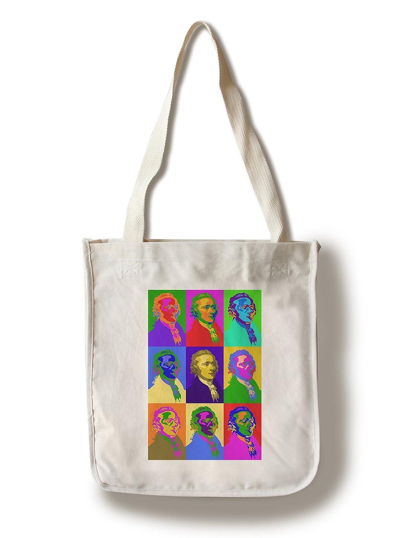 fa2a04154d17 Amazon.com: Lantern Press Alexander Hamilton - Pop Art (100% Cotton Tote Bag  - Reusable): Home & Kitchen
