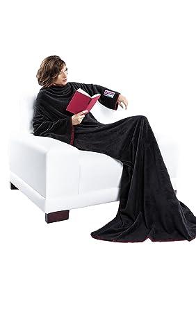 Coperta Con Maniche Slanket.Nebulus Coperta Polare Per Donna Con Maniche Fleece Decke