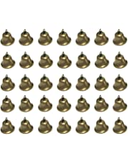 Maydahui 35PCS Vintage Bronze Jingle Bells (1.7 X 1.5 Inches) for Dog Doorbell & Potty Training, Housebreaking, Making Wind Chimes,Christmas Bell