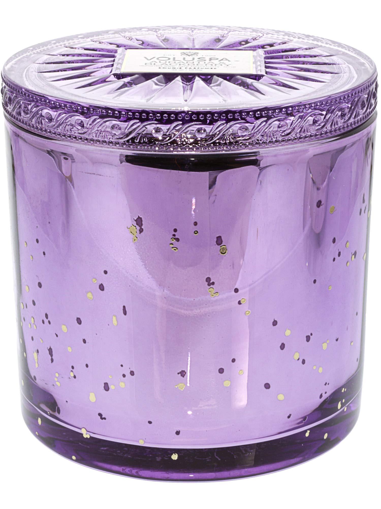 Voluspa Aurantia & Blackberry Grande Maison 3 Wick Glass Candle, 36 ounces