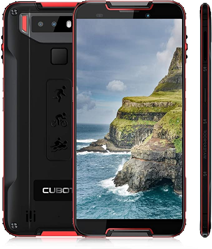 CUBOT Quest (Ultra Delgado) Smartphone 4G LTE Octa-Core 4GB+64GB ...