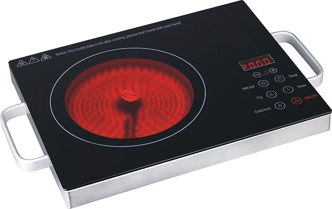 Portabel vitrocerámica infrarrojos de cocina de cerámica ...